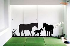 Horse Wall Decal Version 2 by ChamberDecals on Etsy, $100.00