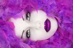 Purple High Fashion Photography | Siri Tollerod Into Calico Design Fashion Photography Art