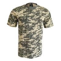 KIDS CAMO T SHIRT ARMY MILITARY PLAY CHILDRENS FANCY DRESS MIL-TEC TOP