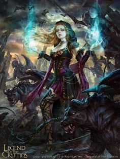 Legend of the Cryptids card - Laura Sava art