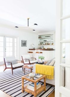 Griffith Park Sunroom Reveal + Get The Look. Living Room ...