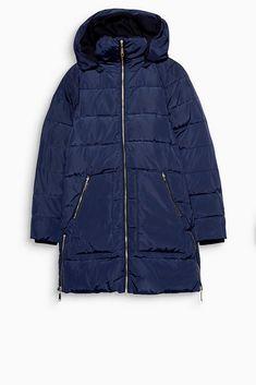 Esprit casual daunen mantel mit top details