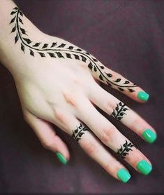 Simple henna tattoo designs for girls and beginners 09012019 - tatoo . - Simple henna tattoo designs for girls and beginners 09012019 – tatoos – - Henna Tattoo Designs Simple, Finger Henna Designs, Mehndi Designs For Beginners, Mehndi Designs For Fingers, Latest Mehndi Designs, Simple Mehndi Designs, Mehndi Simple, Henna For Beginners, Tribal Henna Designs