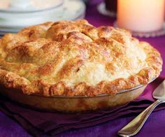 Classic Apple Pie Recipe. For best results, bake this pie at least a few hours before you plan to cut into it; otherwise, the filling may be soupy. With time, the fruit reabsorbs the juices, and the pie will cut like a charm. A pastry cloth and a rolling pin stocking, or sleeve, are simple tools that make it easier to roll out the dough.