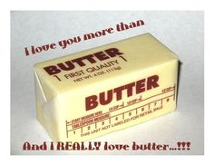 Butter, butter, butter