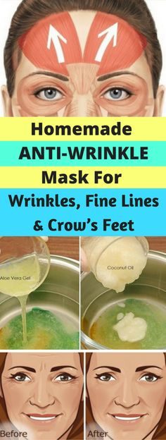 HOMEMADE ANTI-WRINKLE MASK FOR WRINKLES, FINE LINES, AND CROW'S FEET – healthycatcher