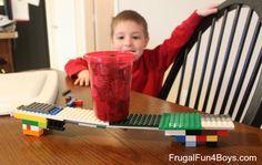 20 activités à faire avec des Lego
