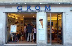 GROM: located in Venice, Italy. Best coffee ice cream I've ever had!