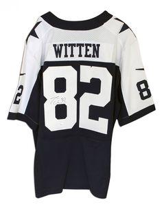 6183a0ce5 AAA Sports Memorabilia LLC - Jason Witten Dallas Cowboys Autographed Blue  Nike Jersey