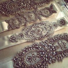 Урожай аксессуары Свадебные ♥ Великолепная Sash Свадебные