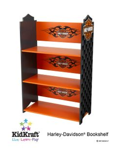 Image detail for -Harley Davidson Book Shelf (Bedroom Accents, Bookcases Shelving Units)