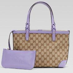 Gucci - Lilac Small Craft Tote - $1,257.97 (19% off)