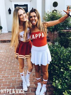 Kappa Kappa Gamma at University of Southern California Go Best Friend, Best Friend Photos, Best Friend Goals, Best Friends Forever, College Outfits, College Girls, College Game Days, College Life, Twin Outfits