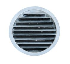 Round Die Cast Aluminium Wall Vent provides a robust and architectural option for Builders and Architects.