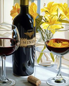 Коллекция картинок: Налейте мне бокал вина... Художник Scott Jacobs