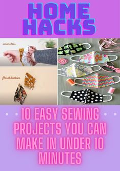 Simple Projects, Sewing Projects For Kids, Sewing For Kids, Life Hacks Home, Hacks Diy, Project Yourself, Sewing Hacks, Diy Clothes, Dyi