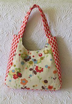 Chantal bag (main fabric used is Wonderland by Momo for Moda Fabrics)    Purse and tote bag patterns