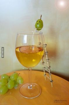 How white wine is really made...... Perhaps if I was less sleep deprived it wouldn't be as funny. Nah, I'm just immature.