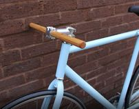 Wooden handlebars by Malet Thibaut