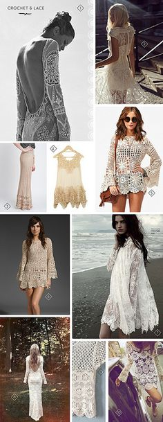 crochet and lace by Moorea Seal