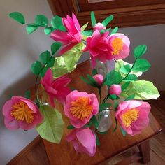 DIY Project: Paper Flower Bouquet | Design*Sponge
