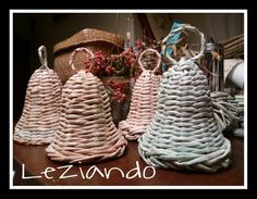 Campanelle di cannucce di carta Straw Bag, Craft, Creativity, Tejidos