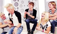 R5--when Ross broke the couch! :P