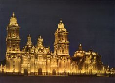 Cathedral in Mexico City, 1965