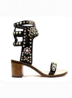 *Exclusive - RUMI Ankle Strap Studded Sandals $119