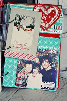 DeLICious December Daily, with vintage bits.