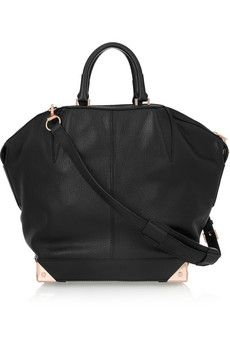 Need this! Alexander Wang Emile Large textured-leather tote...such a chic tote for every day!