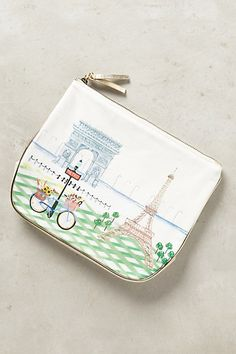 City Shimmer Cosmetic Bag #anthropologie