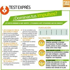 Test: Dominas tus impulsos.
