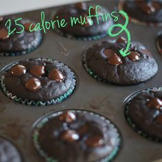 Our 6 fav low calorie muffins #Skinny #Recipes #Baking #Breakfast