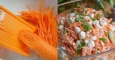 Astăzi, drag amator ale bucatelor delicioase, vă prezentăm o rețetă grozavă de salată din morcov. Salata este o adevărată explozie vitaminoasă și tot odată o gustare dietetică, perfectă pentru a scăpa de niște kilograme în plus și extrem de benefică pentru organism. Datorită combinației geniale a ingredientelor veți obține o salată de morcovi cu conținut scăzut de calorii, foarte gustoasă și chiar sățioasă. INGREDIENTE – 150 g de morcov – 20 g de mărar sau pătrunjel – 1 lingu Tacos, Mexican, Ethnic Recipes, Food, Image, Romanian Recipes, Salads, Eten, Meals