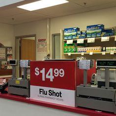 Best price for flu shot at #Costco #FluShot #FluSeason #BeatTheFluSeason #Flu #WinterBlues