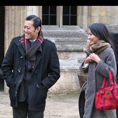 The royal couple of Bhutan in England