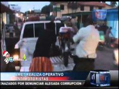 Amet realiza operativo anti Motoristas #Video - Cachicha.com