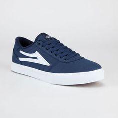 LAKAI Manchester Canvas Mens Shoes #lakai #navy #skate #core #skating #skateboard