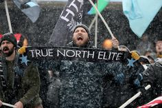 Minnesota soccer fans celebrate first Loons home game amid snowflakes, cold Soccer Fans, True North, Minnesota, Snowflakes, Cold, Games, Celebrities, Movie Posters, Soccer