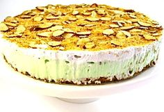 Pistachio Almond Pudding Pie (4 Points+ Per Serving)
