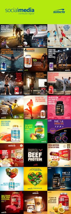 Social Media - Solaris Nutrition on Behance