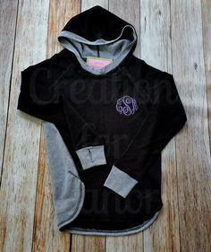 Women's Monogrammed Hoodie, Cool Down Hoodie, Women's Monogrammed Pullover, Monogrammed Shirt, Monogram,Womens  Monogram, Monogram Hoodie