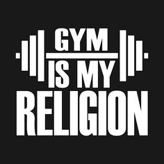Check out this awesome 'Gym+Is+My+Religion' design on Gym Motivation Quotes, Crossfit Motivation, Gym Quote, Fitness Quotes, Typographic Logo, Academia, Just Do It, Gym Men, Bodybuilding