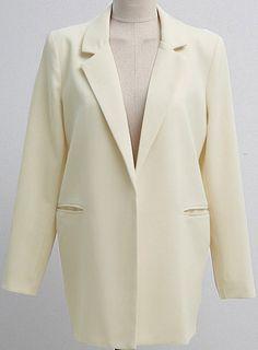 Shop Apricot Lapel Long Sleeve Loose Pockets Blazer online. Sheinside offers Apricot Lapel Long Sleeve Loose Pockets Blazer & more to fit your fashionable needs. Free Shipping Worldwide!