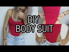 DIY BODYSUIT. From a TANK TOP!.Transforming Oldies. MSTG