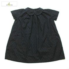 aid round collar dress   jujubunnyshop