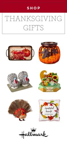 Show someone how thankful you are for them this year with these Thanksgiving gifts from Hallmark! With pumpkin candle holders, plaid throw blankets, and turkey-themed pop up cards, there's something for everyone on your list. Thanksgiving Gifts, Throw Blankets, Pop Up Cards, Give Thanks, Fall Crafts, Activities For Kids, Candle Holders, Turkey, Thankful