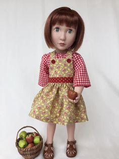 """ORANGE tights for 16/"""" Sasha or A Girl for All Time Doll"""