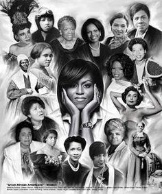 Powerful nubian women!